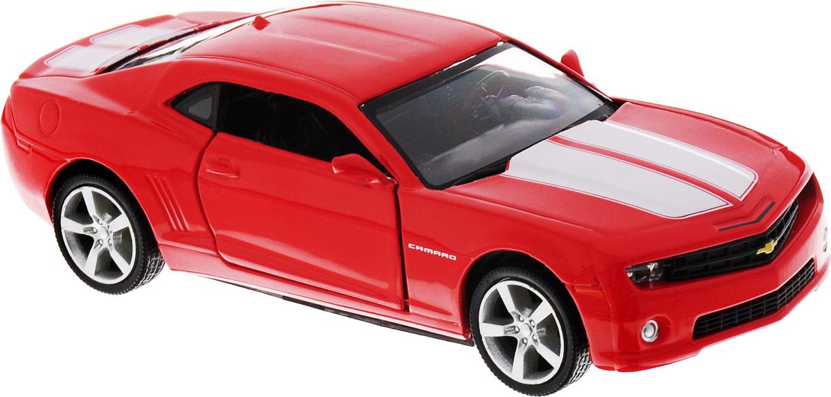 Autotime Модель автомобиля Chevrolet Camaro цвет красный машинки autotime машина lada 2104 такси
