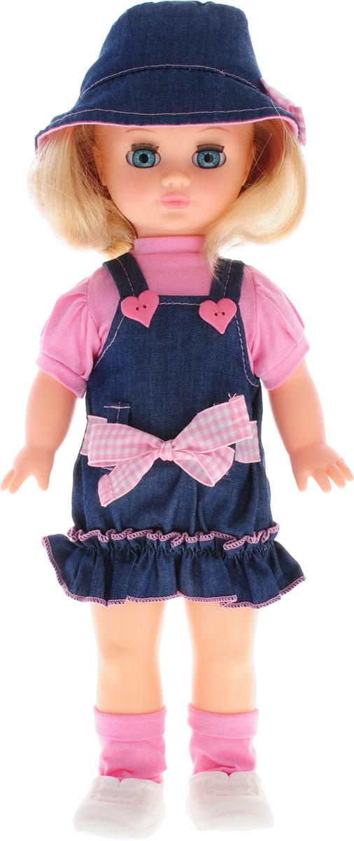 Весна Кукла озвученная Маргарита  цвет одежды светло-розовый синий книги питер комплект лошадки и пони из ткани и трикотажа куколки модная одежда для текстил куклы