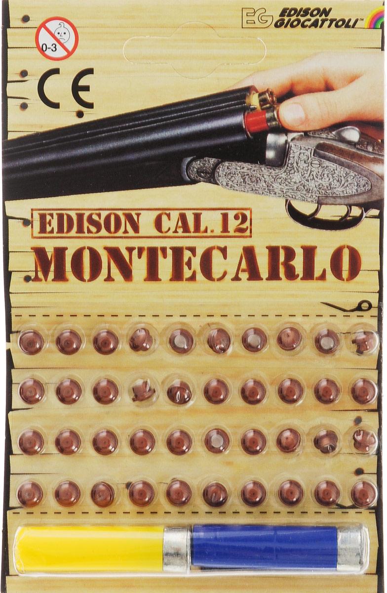 Edison Пистоны Montecarlo с двумя гильзами цвет желтый синий 40 шт