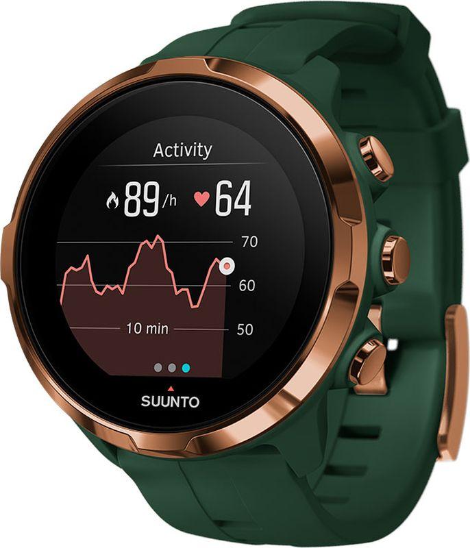 "Часы спортивные ""Spartan Sport Wrist HR Forest"", цвет: зеленый, Suunto"