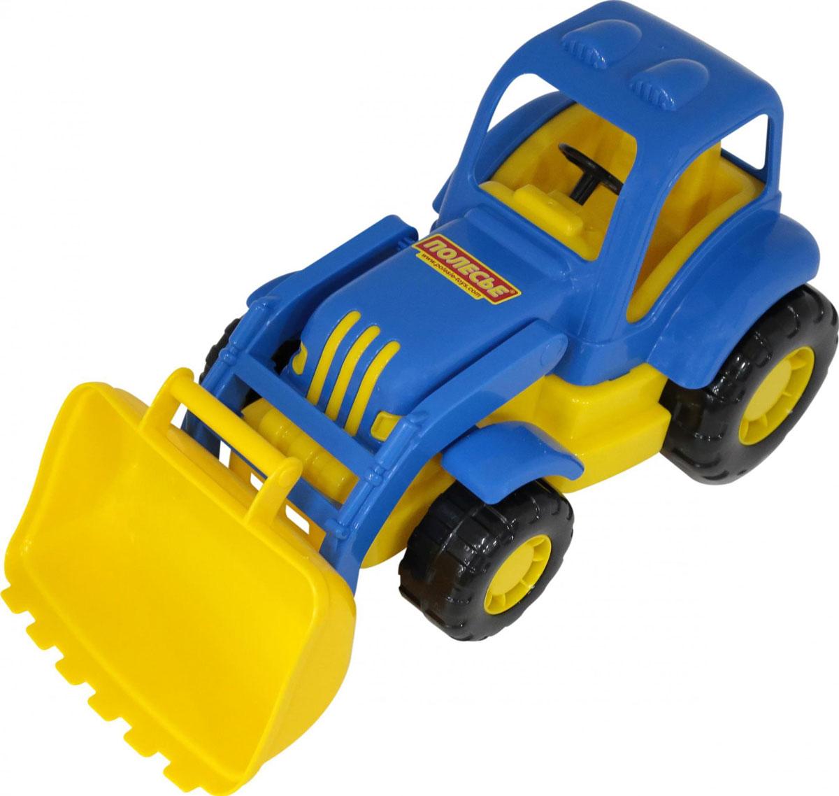 Полесье Трактор-погрузчик Силач машина детская полесье полесье набор автомобиль трейлер трактор погрузчик