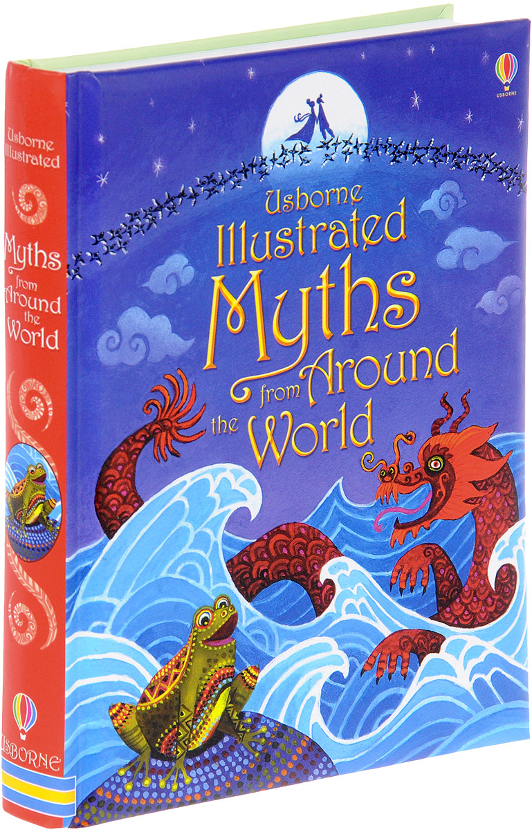 Illustrated Myths from Around the World illustrated norse myths