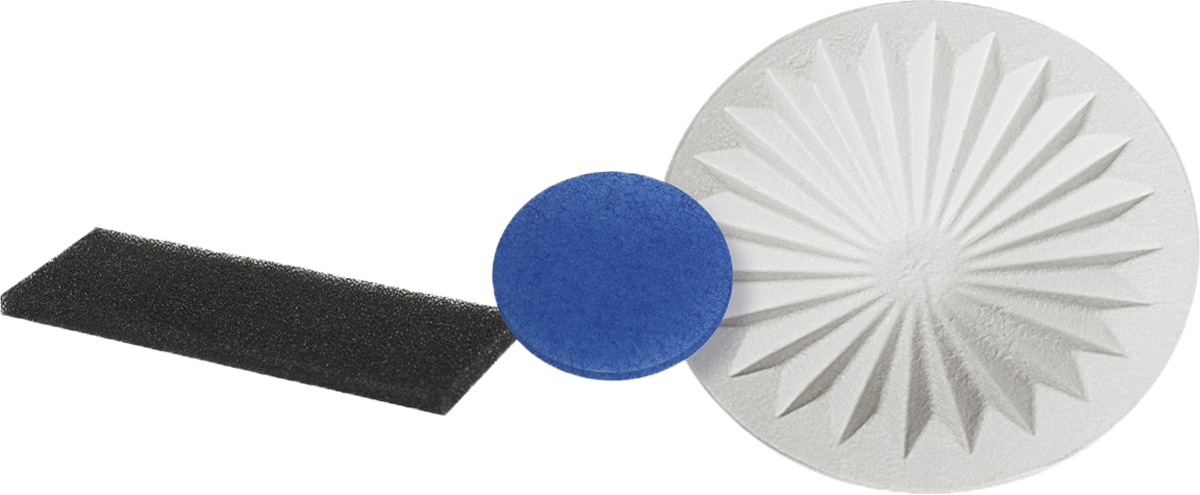 Neolux FVX-01 набор фильтров для пылесоса Vax, 3 штFVX - 01Набор фильтров Neolux FVX-01 предназначен для пылесосов VAX серий: 1000, 1200, 1700, 1800, 2000, 2001, 2100, 2300, 2301, 2500, 4000; Powa: 4001, 4100, 5000; Rapide: 5100, 5110, 5120, 5130; Rapide Plus: 5140, 5150, 6121, 6130 E, 6131, 6140, 6150. В наборе 3 предмета: конусный фильтр, предмоторный фильтр, и фильтр тонкой очистки.