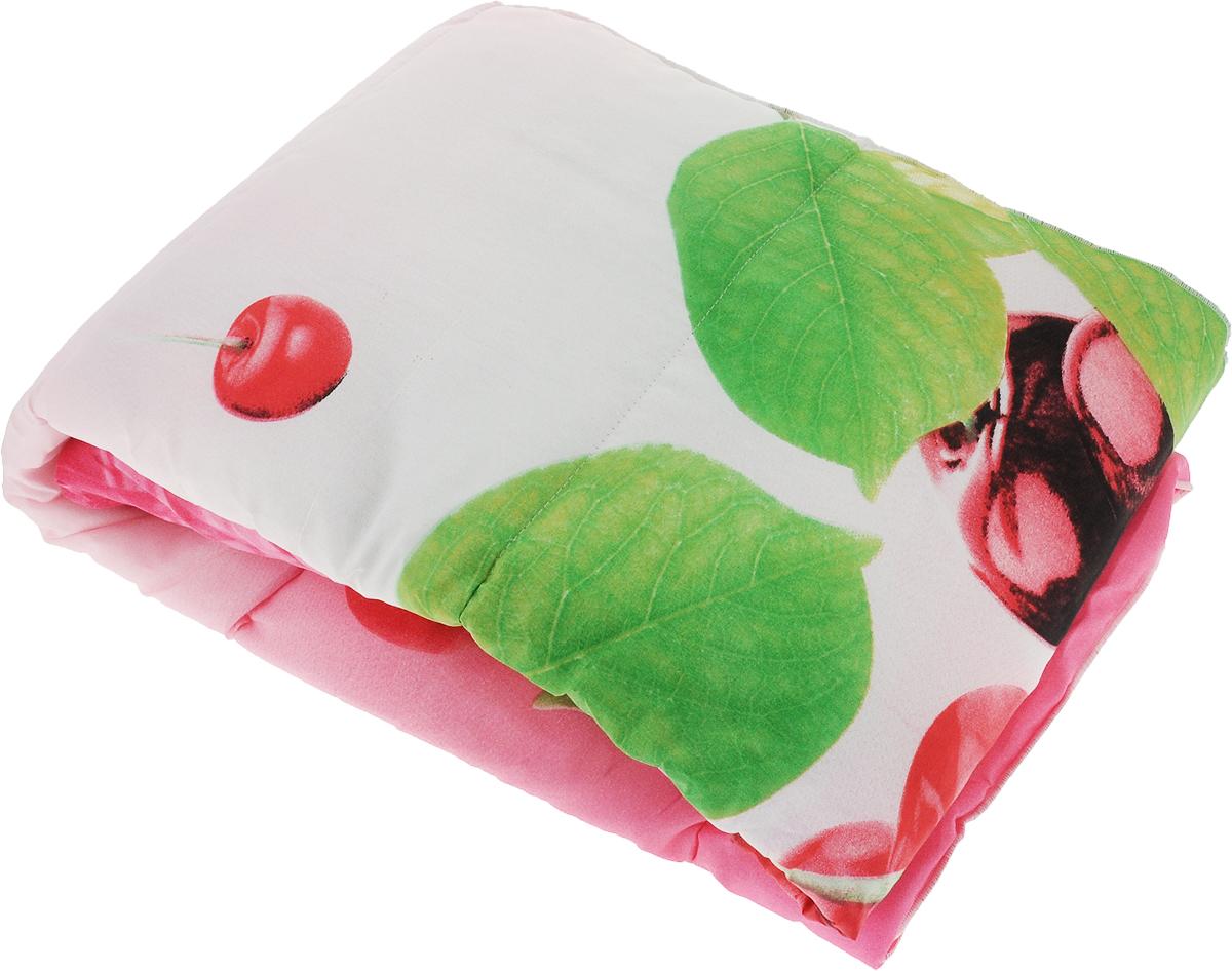 Одеяло Sleeper Дили. Вишня, наполнитель: силиконизированное волокно, цвет: розовый, 172 х 200 см20(13)323_розовый/вишняОдеяло Sleeper Дили подарит уютный и комфортный сон. Чехол одеяла выполнен из микрофибры, наполнитель - силиконизированное волокно. Изделие с синтетическим наполнителем: - не вызывает аллергических реакций; - воздухопроницаемо; - не впитывает запахи; - имеет удобную форму. Рекомендации по уходу: - Стирка при температуре не более 40°С. - Запрещается отбеливать, гладить.Материал чехла: микрофибра (100% полиэстер).Наполнитель: силиконизированное волокно.Масса наполнителя: 0,50 кг.