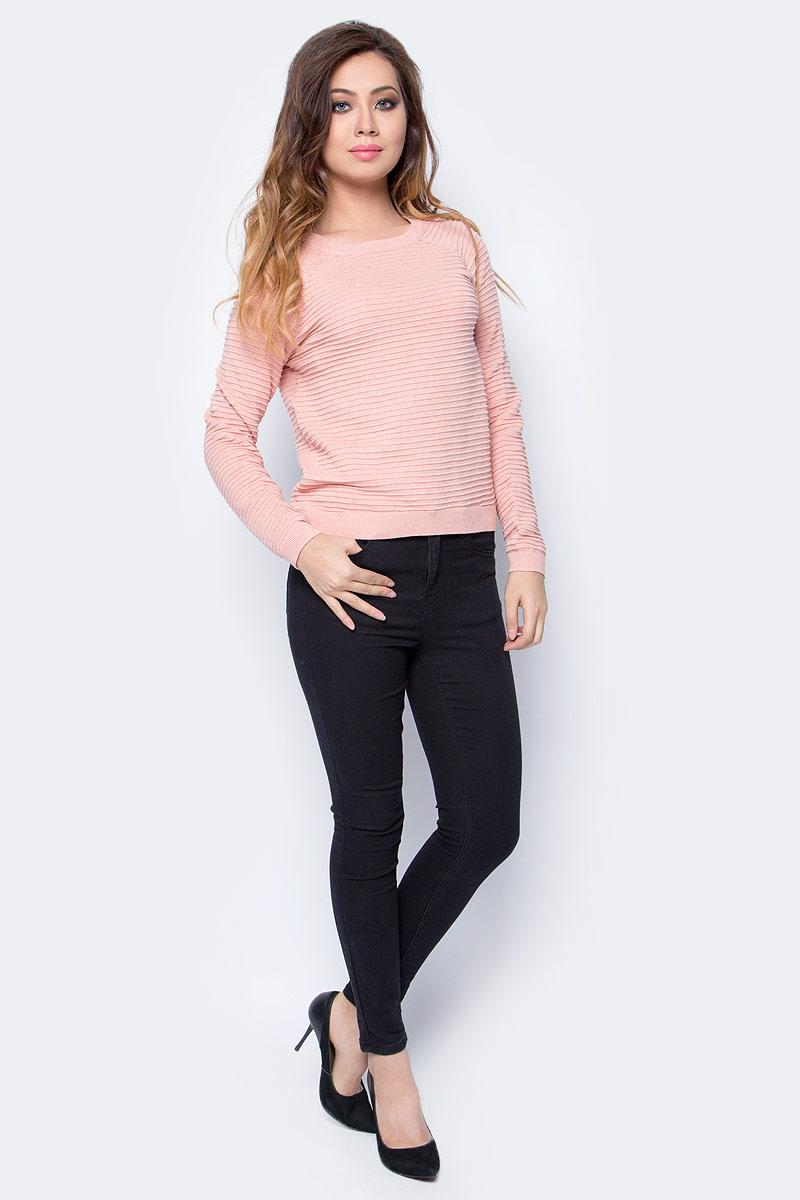 Свитер женский Tom Tailor, цвет: розовый. 3023001.09.71_4743. Размер L (48)3023001.09.71_4743