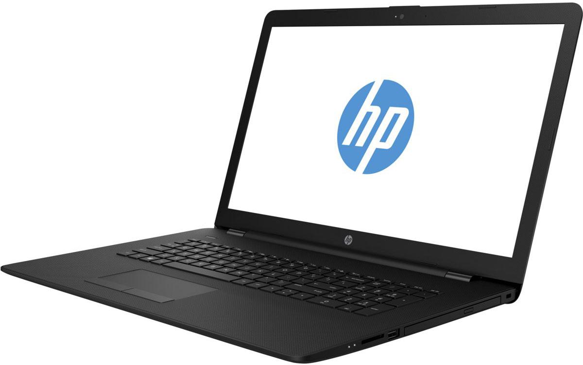 HP 17-BS006UR, Black (1ZJ24EA)1217651Стильный ноутбук HP 17-BS006UR, помимо выполнения повседневных задач, поможет вам оставаться на связи весь день.Благодаря неизменно высокой производительности и длительному времени работы от аккумулятора вы можете с комфортом пользоваться Интернетом, вести потоковое вещание и оставаться на связи с нужными людьми.Новейшие процессоры Intel обеспечивают неизменно высокую производительность, которая необходима для работы и развлечений.Надежность и долговечность ноутбука позволят легко выполнять все необходимые задачи.Развлекайтесь и оставайтесь на связи с друзьями и семьей благодаря превосходному дисплею HD+ (или Full HD в некоторых моделях) и камере HD в некоторых моделях.Кроме того, с этим ноутбуком ваши любимые музыка, фильмы и фотографии будут всегда с вами.Превосходно спроектированный как изнутри, так и снаружи, этот ноутбук HP с экраном диагональю 43,9 см (17,3 дюйма) идеально подойдет для вашего образа жизни.Оригинальные узоры, уникальные текстуры и хромированное шарнирное соединение добавят немного цвета к серым будням.Взгляните по-новому на все, что вы делаете, благодаря потрясающим графическим возможностям. Intel HD Graphics обеспечивает высокое качества и яркие цвета отображения видео, веб-страниц и другого.ОЗУ играет ключевую роль при работе в многозадачном режиме и выполнении ресурсоемких приложений, например компьютерных игр и ПО для редактирования видео. Чем больше емкость ОЗУ, тем выше будет производительность.Точные характеристики зависят от модификации.Ноутбук сертифицирован EAC и имеет русифицированную клавиатуру и Руководство пользователя