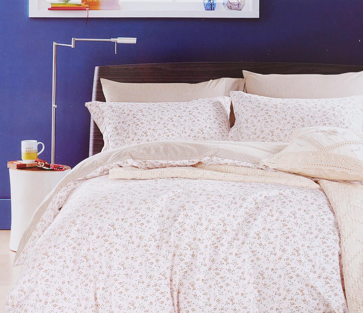 Комплект белья Arya Felix, 2-спальный, наволочки 50х70, 70х70, цвет: светло-розовый, белыйTR1002264Роскошный комплект постельного белья Arya Felix состоит из пододеяльника, простыни и 4 наволочек, выполненных из сатина (100% хлопка). Сатин - прочная и плотная ткань с диагональным переплетением нитей. Сатиновое постельное белье легко переносит стирку в горячей воде, не выцветает, не соскальзывает с кровати и приятно на ощупь.Благодаря такому комплекту постельного белья вы создадите неповторимую атмосферу в вашей спальне.