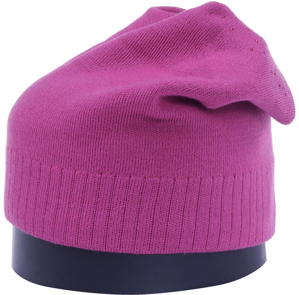 Шапка женская Vittorio Richi, цвет: брусничный. Aut141902C-29/17. Размер 56/58Aut141902CУдлиненная женская шапка Vittorio Richi отлично дополнит ваш образ в холодную погоду. Модель, изготовленная из шерсти с добавлением полиамида, максимально сохраняет тепло и обеспечивает удобную посадку. Шапка декорирована сзади узором из страз. Привлекательная стильная шапка подчеркнет ваш неповторимый стиль и индивидуальность.
