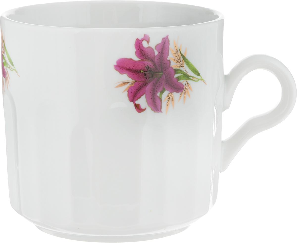 Кружка Фарфор Вербилок Цветок, 500 мл5722530_белый, бордовый/цветокКружка Фарфор Вербилок Цветок способна скрасить любое чаепитие. Изделие выполнено из высококачественного фарфора. Посуда из такого материала позволяет сохранить истинный вкус напитка, а также помогает ему дольше оставаться теплым.Диаметр по верхнему краю: 9,7 см.Высота кружки: 9,3 см.