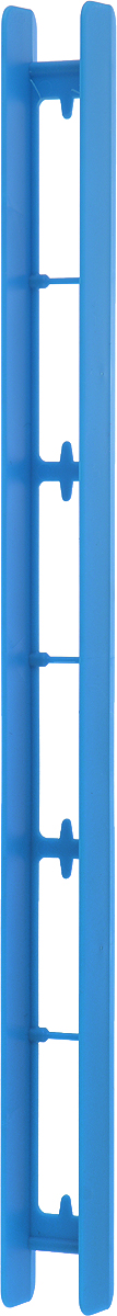 Мотовило AGP, цвет: синий, 25 x 1,8 x 1,5 см мотовило agp для поводков с пружиной цвет желтый