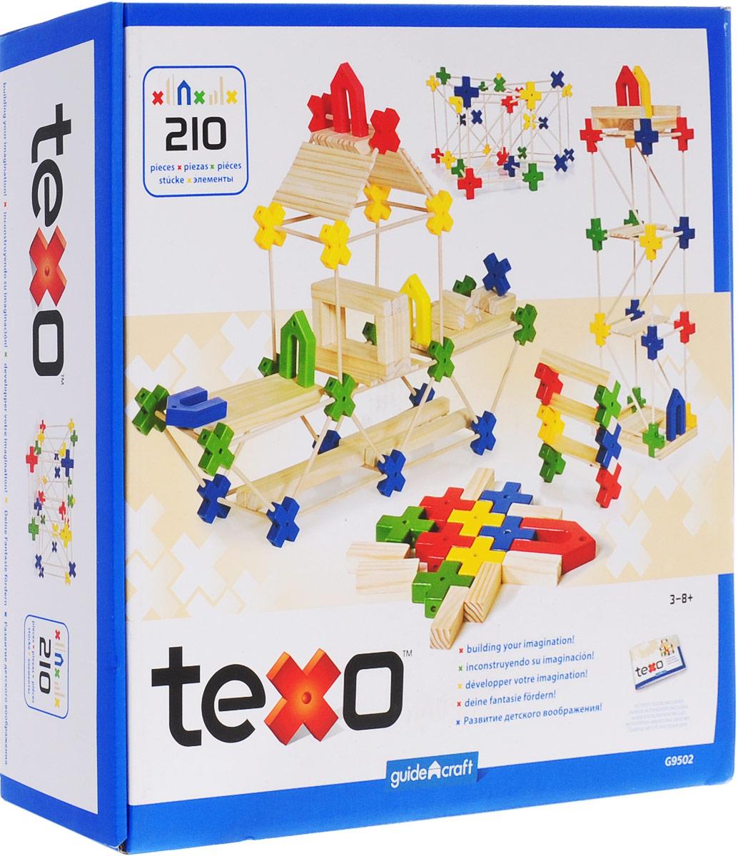 GuideCraft Конструктор деревянный Texo G9502 конструктор деревянный изба
