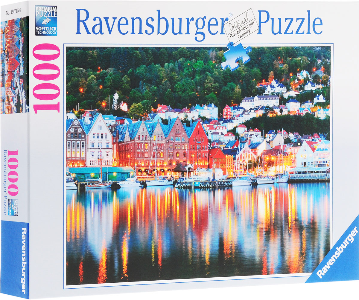 Ravensburger Пазл Берген Норвегия