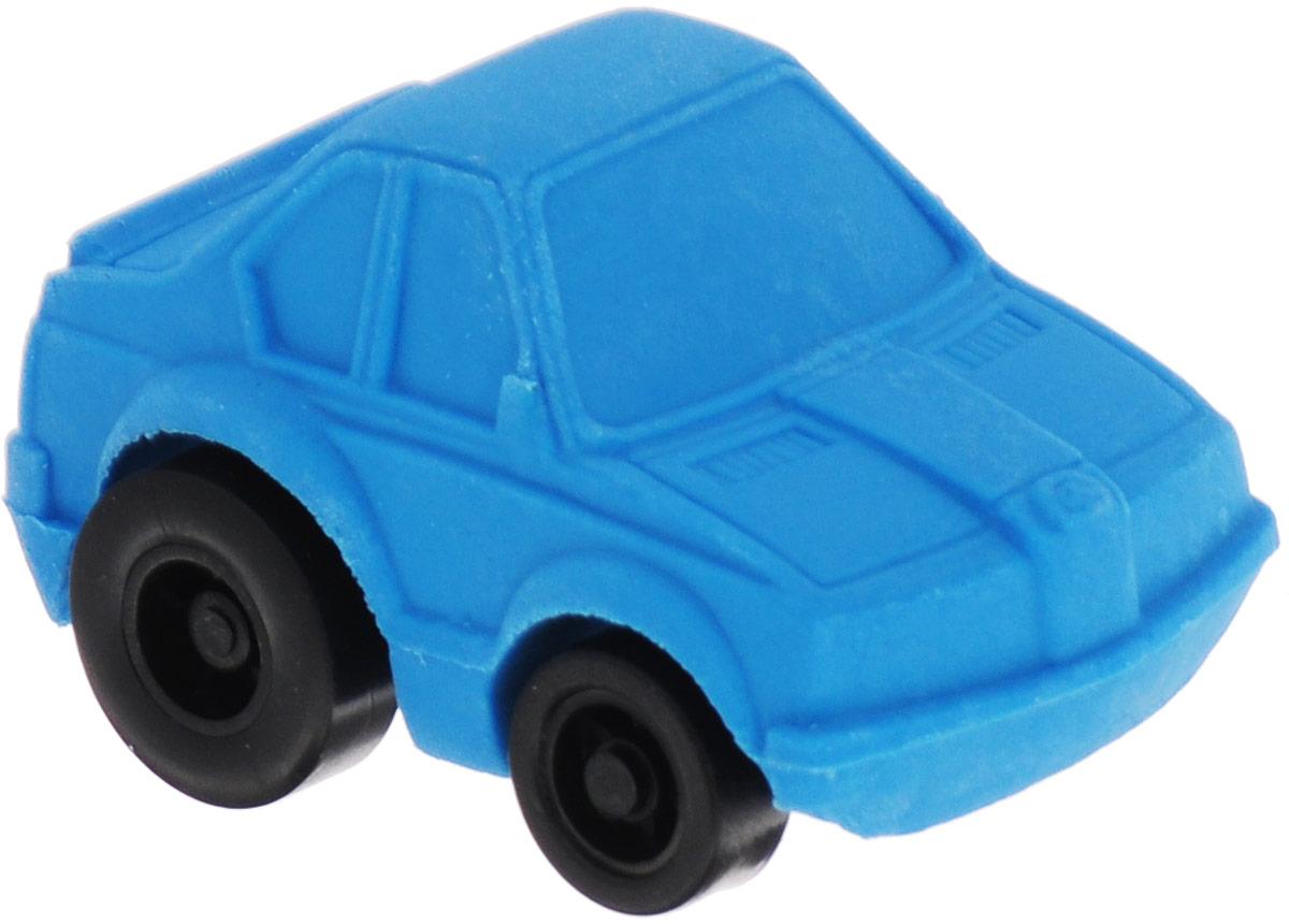 Brunnen Ластик Машинка цвет голубой вид 2 -  Чертежные принадлежности