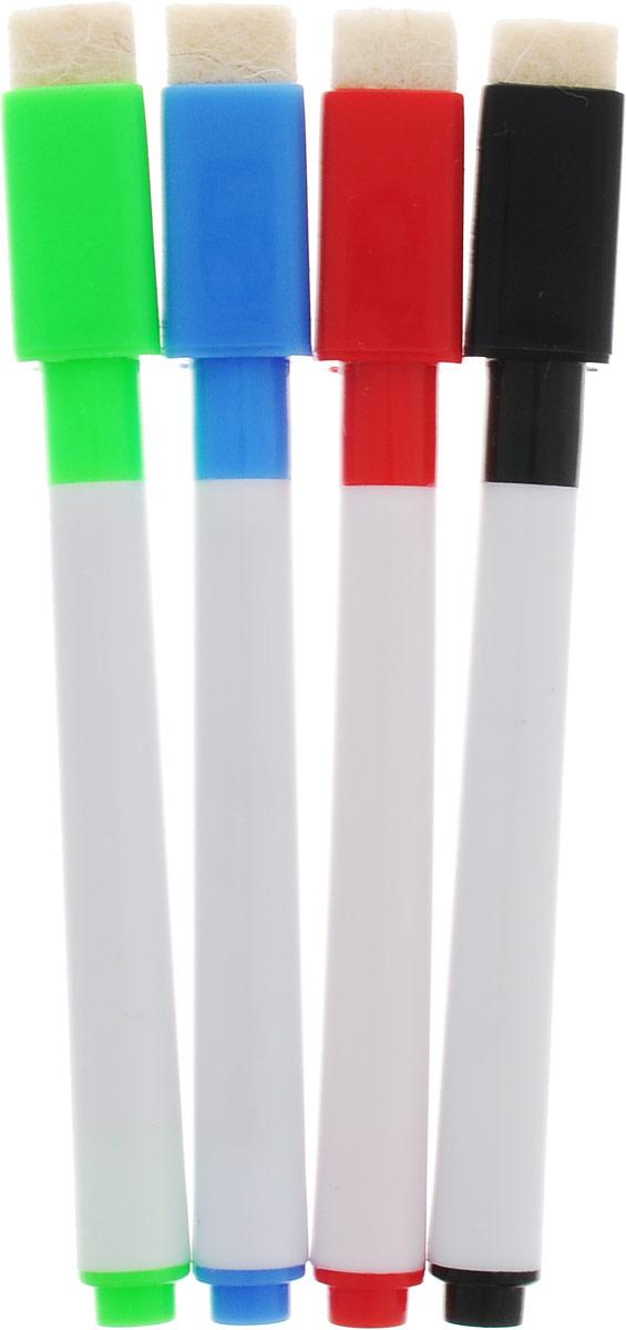 Набор маркеров с магнитом 6 цветов111051Маркеры цветные 6 цветов на водная основа – подходящий выбор для самых успешных презентаций. Этот вариант включает в себя все достоинства обычных маркеров для досок – насыщенный цвет, ровную яркую линию, светоустойчивость. Однако водная основа имеет свои особые преимущества. Маркеры на такой основе приятно пахнут, быстро высыхают и легко стираются губкой. А самое главное – они абсолютно безвредны для здоровья, поэтому особенно популярны в детских садах и школах.