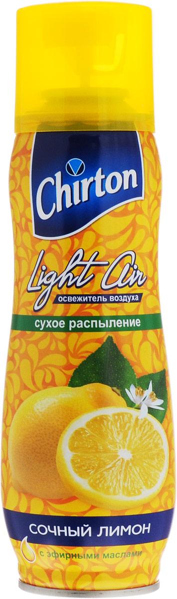Освежитель воздуха Chirton Сочный лимон, 300 мл45620Освежитель воздуха Chirton Сочный лимон предназначен для устранения неприятных запахов в различных помещениях. Высокое качество позволит быстро избавиться от неприятных запахов в любом уголке вашего дома. Современный дизайн и силуэт Chirton Сочный лимон гармонично впишется в любой интерьер.Состав: пропан/бутан/изобутан >30%, растворитель Товар сертифицирован.Уважаемые клиенты! Обращаем ваше внимание на то, что упаковка может иметь несколько видов дизайна. Поставка осуществляется в зависимости от наличия на складе.