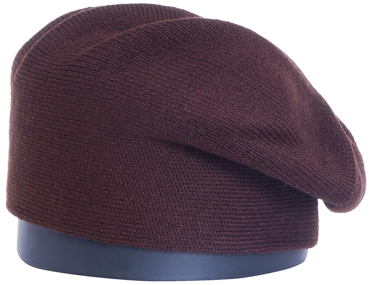 Шапка женская Vittorio Richi, цвет: коричневый. Aut241895B-85/17. Размер 56/58Aut241895BСтильная женская шапка Vittorio Richi отлично дополнит ваш образ в холодную погоду. Модель, изготовленная из шерсти с добавлением полиамида, максимально сохраняет тепло и обеспечивает удобную посадку. Привлекательная стильная шапка подчеркнет ваш неповторимый стиль и индивидуальность.