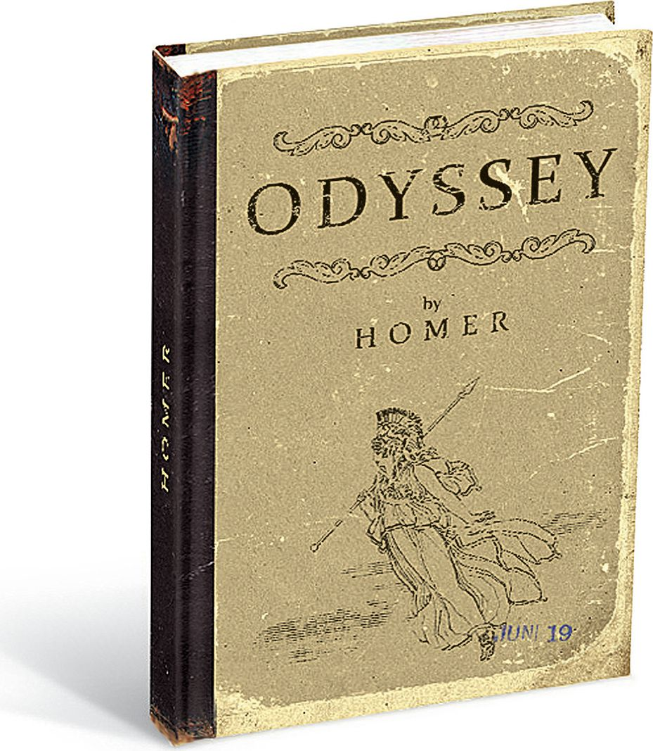 Вкусная открытка Блокнот Odyssey Iliad 96 листов в клетку VO-25117408СБлокнот Вкусная открытка Odyssey Iliad формата В6 отлично подойдет для записи важной информации. Обложка выполнена из высококачественного картона. Внутренний блок содержит 96 листов в клетку.Все планы и записи всегда будут у вас перед глазами.