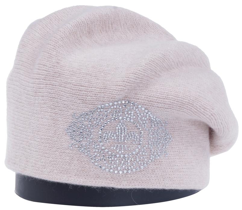 Шапка женская Vittorio Richi, цвет: светло-бежевый. Aut241920L-61/17. Размер 56/58Aut241920LСтильная женская шапка Vittorio Richi отлично дополнит ваш образ в холодную погоду. Модель, изготовленная из высококачественных материалов, максимально сохраняет тепло и обеспечивает удобную посадку. Шапка спереди дополнена узором из страз. Привлекательная стильная шапка подчеркнет ваш неповторимый стиль и индивидуальность.