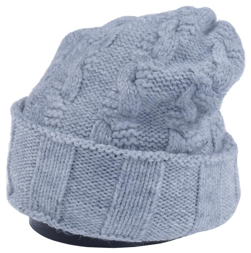 Шапка женская Vittorio Richi, цвет: светло-серый. Aut141937V-22/17. Размер 56/58Aut141937VСтильная женская шапка Vittorio Richi отлично дополнит ваш образ в холодную погоду. Модель, изготовленная из высококачественных материалов, максимально сохраняет тепло и обеспечивает удобную посадку. Шапка дополнена ажурной вязкой. Привлекательная стильная шапка подчеркнет ваш неповторимый стиль и индивидуальность.Шапка двойная