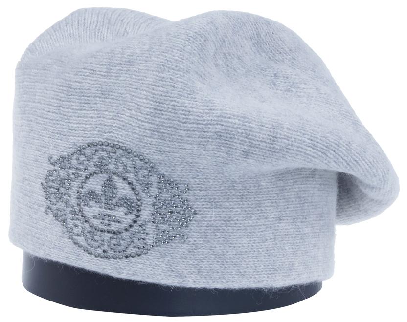 Шапка женская Vittorio Richi, цвет: светло-серый. Aut241920L-22/17. Размер 56/58Aut241920LСтильная женская шапка Vittorio Richi отлично дополнит ваш образ в холодную погоду. Модель, изготовленная из высококачественных материалов, максимально сохраняет тепло и обеспечивает удобную посадку. Шапка спереди дополнена узором из страз. Привлекательная стильная шапка подчеркнет ваш неповторимый стиль и индивидуальность.