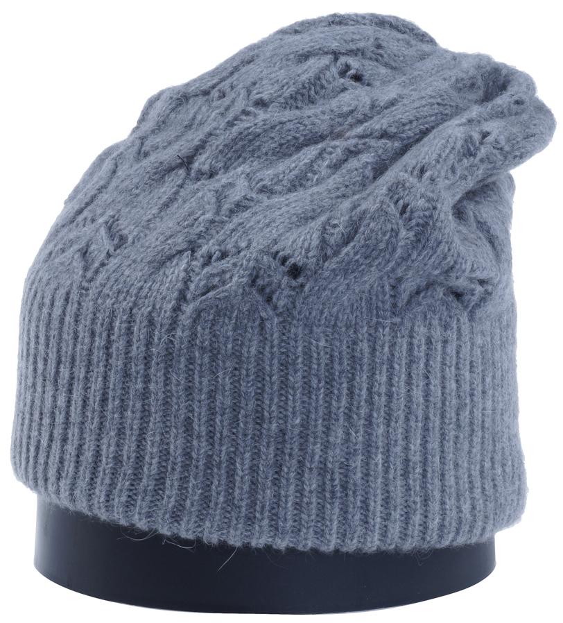 Шапка женская Vittorio Richi, цвет: серый меланж. Aut261858L-34/17. Размер 56/58Aut261858LСтильная женская шапка Vittorio Richi отлично дополнит ваш образ в холодную погоду. Модель, изготовленная из высококачественных материалов, максимально сохраняет тепло и обеспечивает удобную посадку. Шапка дополнена ажурной вязкой. Привлекательная стильная шапка подчеркнет ваш неповторимый стиль и индивидуальность.