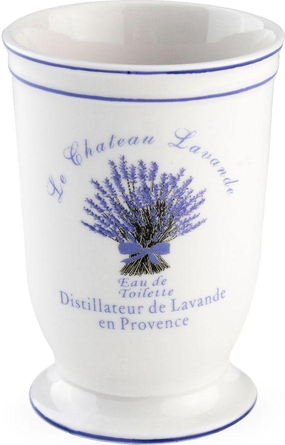 Форма стакана для зубных щеток напоминает милые флакончики французских духов, которые можно было найти у любой модницы в начале прошлого века. Аксессуар великолепно впишется как в классический, так и современный интерьер.