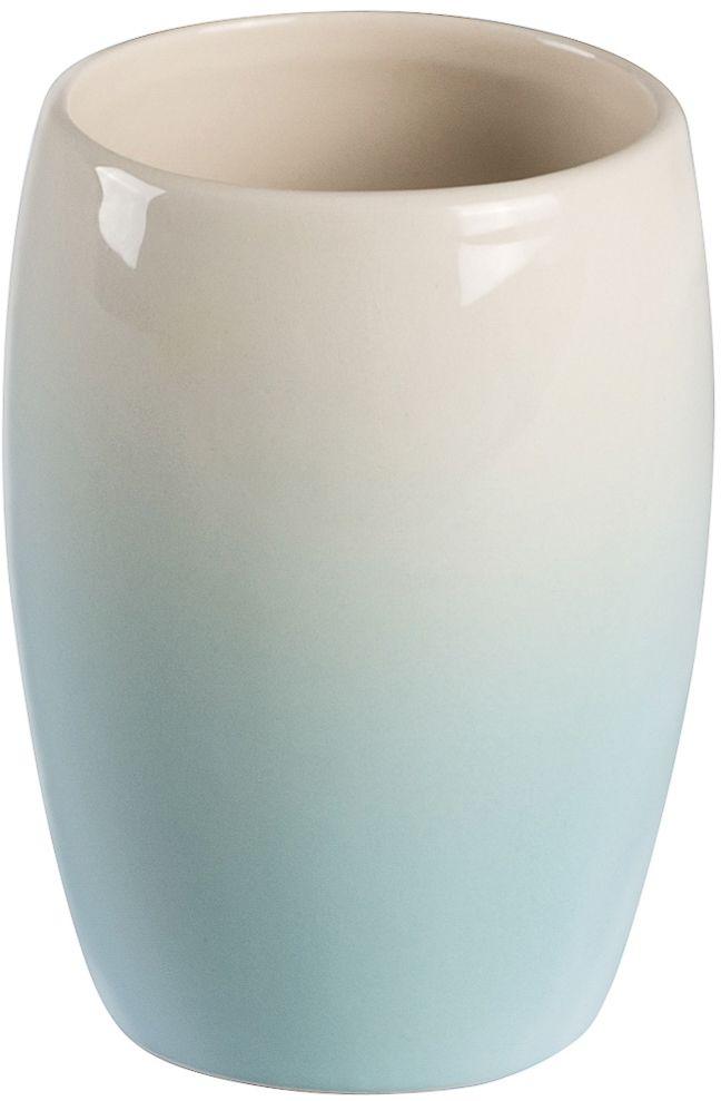 Стакан для зубных щеток Verran Ombre blue. 850-23850-23Предмет выполнен в технике омбре. Омбре или деграде - это плавный переход одного цвета в другой или градиент.