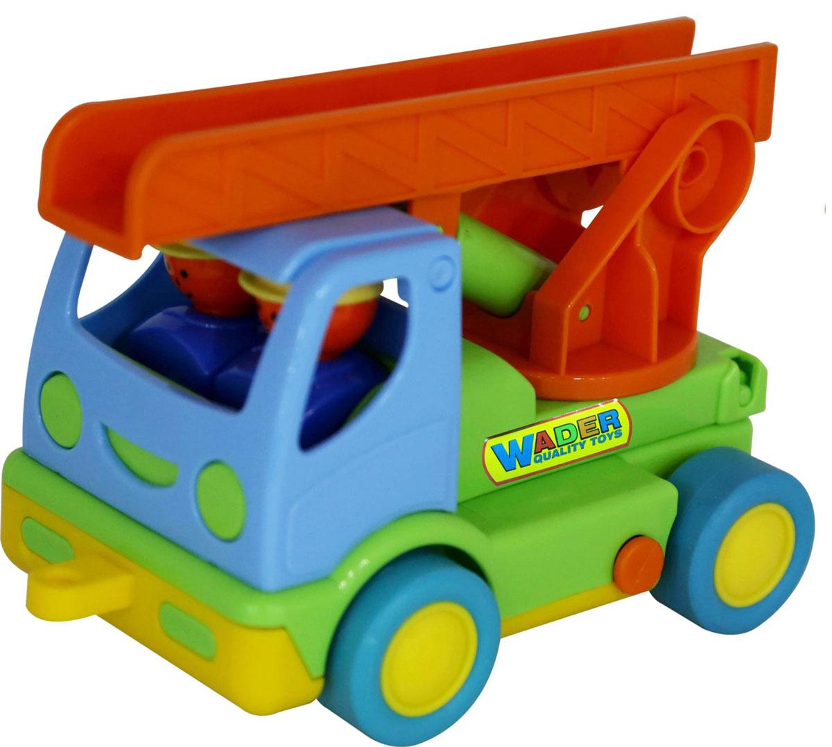 Полесье Пожарный автомобиль Мой первый грузовик 40152 игрушки для ванны полесье паром балтик автомобиль мини 4 шт