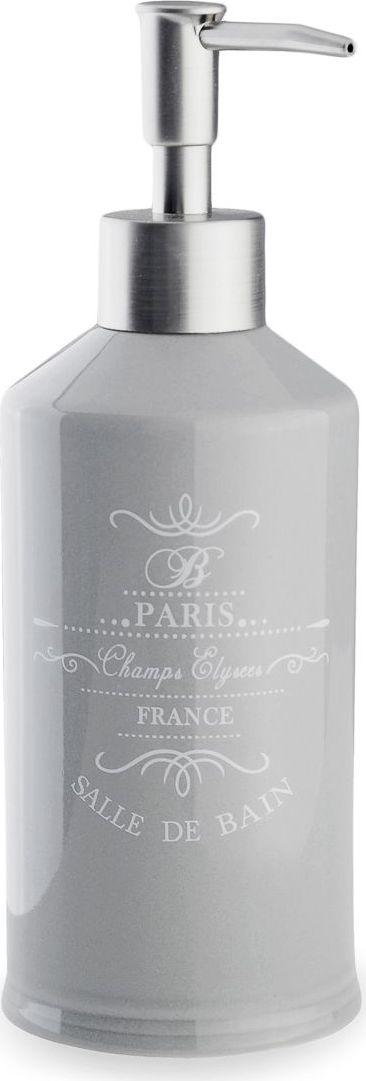 Дозатор для жидкого мыла Verran Paris. 870-13870-13Лаконичные современные формы дозатора для жидкого мыла в сочетании с винтажными надписями придают предмету изысканный вид.