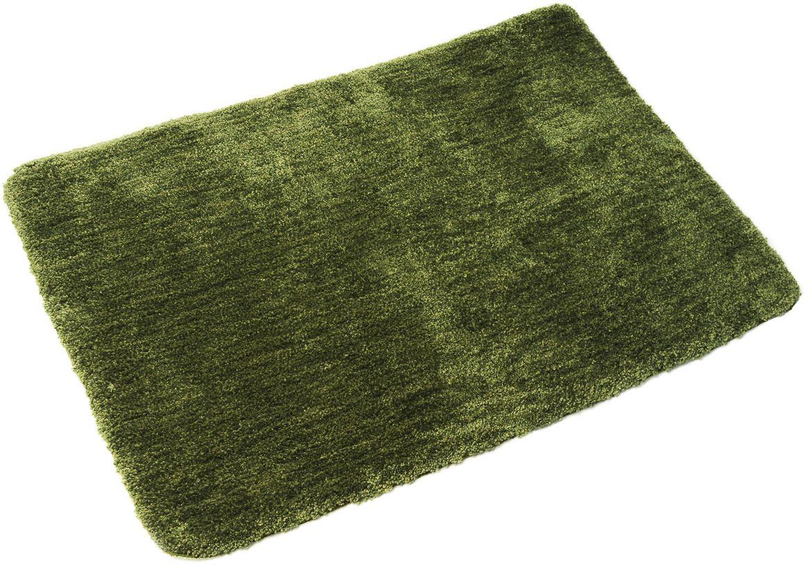 Коврик для ванной Wess Fudjeira, цвет: зеленый, 70 х 100 смA38-50Мягкий коврик сложного и красивого оттенка гармонично завершает образ, создаваемый коллекцией Fudjeira. Длина ворса составляет 2,5 см. Коврик для ванной комнаты имеет основу из латекса, предотвращающую скольжение на кафеле, быстро сохнет, приятен на ощупь.