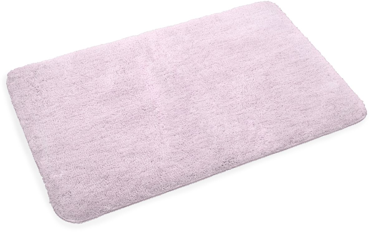 Коврик для ванной Wess Brillar, цвет: розовый, 50 х 80 смA60-80Прямоугольный коврик с длиной ворса 2 см. Изготовлен из наномикрофибры. Наномикрофибра имеет более тонкую нить. Изделия из нее мягче, приятнее на ощупь и быстрее сохнут. Основа коврика из термопластиковой резины. Материал не крошится со временем, не пригоден для жизни бактерий, устойчив к температурам. Коврик пригоден для системы теплый пол.
