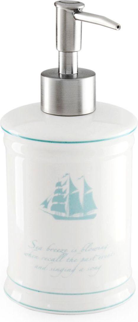 Дозатор для жидкого мыла Wess Atlantic. G87-82G87-82Дозатор для жидкого мыла Atlantic подойдет для любителей морских круизов и путешествий. Красивая цветовая гамма, глянцевая поверхность предметов добавят колоритности вашей ванной комнате.