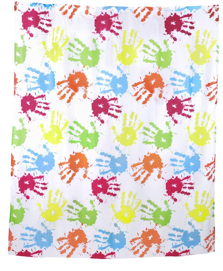 Штора для ванной Wess Fiesta, цвет: белый, мультицвет, 180 х 200 см. T542-4T542-4Как здорово иногда откинуть все проблемы и почувствовать свободу, отдавшись ярким эмоциям во время популярного развлечения, когда люди бросаются друг в друга сухими красками! Колоритный принт занавески отражает экспрессию, делая интерьер ярким и позитивным! Занавеска изготовлена из 100% полиэстера и полностью обработана водоотталкивающим средством. Имеет 12 металлических люверсов оранжевого цвета. Кольца приобретаются отдельно.