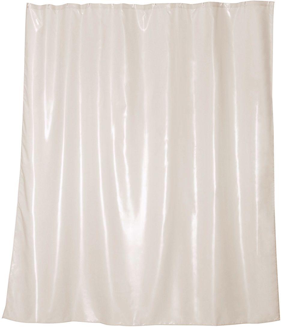Штора для ванной Wess Brillar beige, цвет: бежевый, 180 х 200 см. T563-1T563-1Особая отделка ткани создает эффект сияния перламутра. Ловя тепло источника света, занавеска начинает играть нежнейшими переливами бежевых оттенков, привлекая взгляд пластичностью и необычной фактурой. Занавеска изготовлена из 100% полиэстера и полностью обработана водоотталкивающим средством. Имеет 12 металлических люверсов. Кольца приобретаются отдельно.