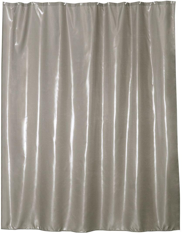 Штора для ванной Wess Brillar, цвет: серый, 180 х 200 см. T563-6T563-6Особая отделка ткани создает эффект сияния перламутра. Ловя тепло источника света, занавеска начинает играть нежнейшими переливами благородных серых и бежевых оттенков, привлекая взгляд пластичностью и необычной фактурой. Занавеска изготовлена из 100% полиэстера и полностью обработана водоотталкивающим средством. Имеет 12 металлических люверсов. Кольца приобретаются отдельно.