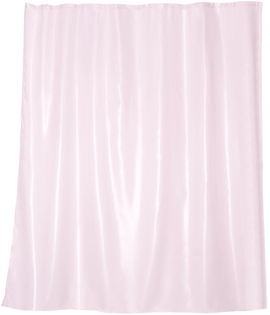 Штора для ванной Wess Brillar Pink, цвет: розовый, 180 х 200 см. T563-8T563-8Особая отделка ткани создает эффект сияния перламутра. Ловя тепло источника света, занавеска начинает играть нежнейшими переливами розового цвета, привлекая взгляд пластичностью и необычной фактурой. Занавеска изготовлена из 100% полиэстера и полностью обработана водоотталкивающим средством. Имеет 12 металлических люверсов. Кольца приобретаются отдельно.