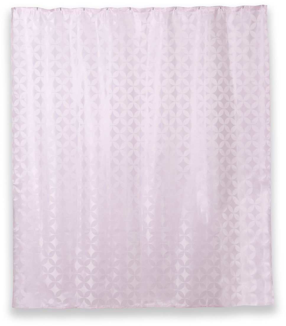 Штора для ванной Wess Lamis, 180 х 200 см. T626-8T626-8Переливающийся марокканский узор на ткани занавески Lamis создаст ориентальный мотив в интерьере ванной комнаты. Повышенная плотность материала и специальная пропитка обеспечивают водонепроницаемость шторы. Занавеска имеет 12 хромированных металлических люверсов. Кольца приобретаются отдельно.