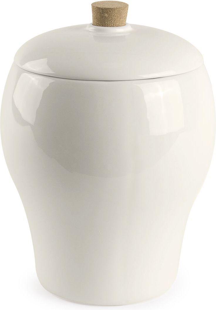 Ведро для мусора Moroshka Naturel, 2,2 лxx004-30Ведро с крышкой Moroshka Naturel выполнено из керамики молочно-белого цвета. Внутренняя часть ведра прокрашена в серо-коричневый оттенок. Крышка украшена ручкой из натуральной пробки, которая также отличается удобством использования: не выскальзывает из рук и имеет оптимальный размер.