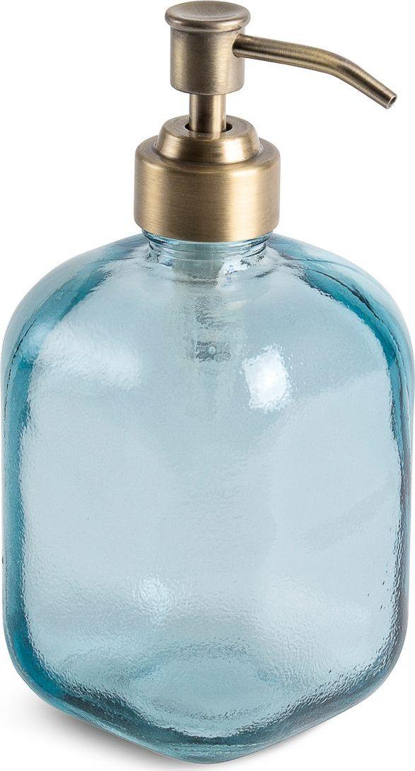 Дозатор для жидкого мыла Moroshka Naturel, цвет: синий. xx004-36xx004-36Дозатор для мыла с мягкими формами. Носик выполнен в металле, покрыт антикоррозийной краской цвета латунь. Все стеклянные изделия Naturel изготовлены из вторичного сырья, что оправдывает название коллекции не только в дизайне.