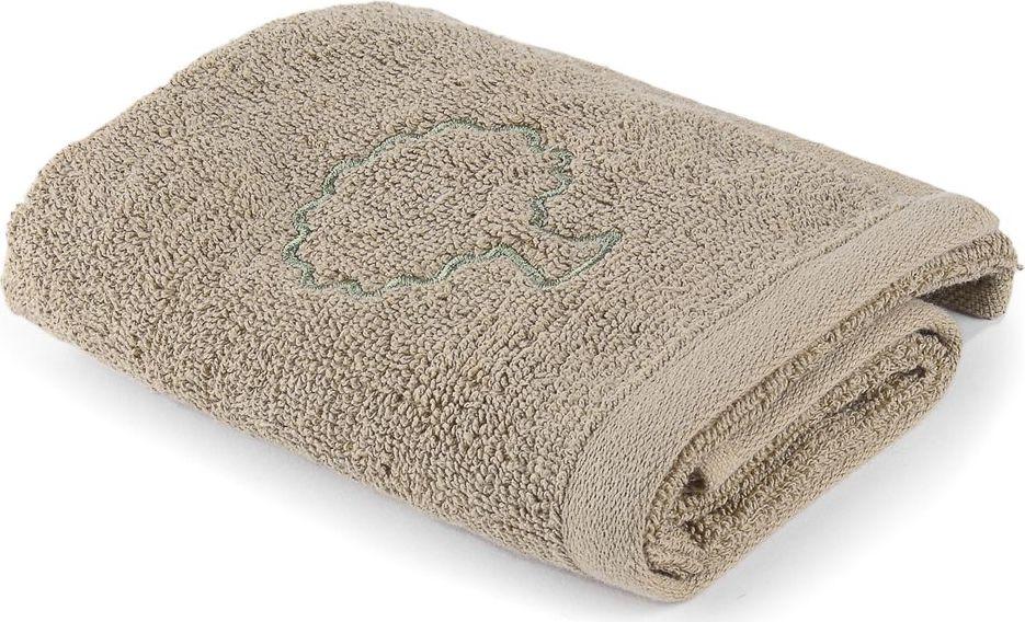 Полотенце Moroshka Naturel, цвет: бежевый, 30 х 50 см. xx004-73xx004-73Махровое полотенце для рук с вышивкой. Изготовлено из 100 % хлопка высокого качества. Оптимальная плотность (500 г/м.кв.) для впитывания влаги. Фирменная петелька на полотенце для удобства размещения полотенца на крючке. Можно стирать вручную или в стиральной машине при температуре до 40°С. Рекомендуется стирать с вещами, схожими по цвету.
