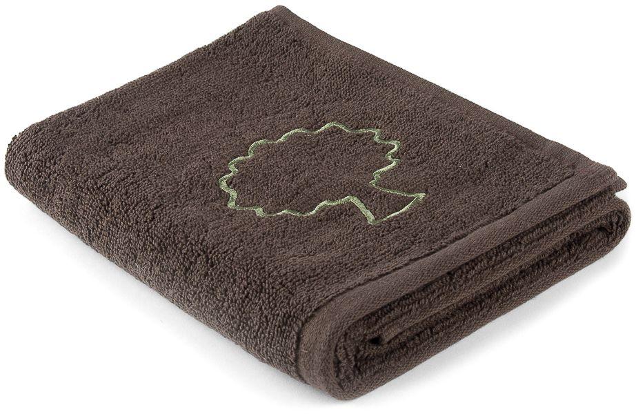 Полотенце Moroshka Naturel, цвет: коричневый, 50 х 70 см. xx004-74xx004-74Махровое полотенце для рук с вышивкой. Изготовлено из 100 % хлопка высокого качества. Оптимальная плотность (500 г/м.кв.) для впитывания влаги. Фирменная петелька на полотенце для удобства размещения полотенца на крючке. Можно стирать вручную или в стиральной машине при температуре до 40°С. Рекомендуется стирать с вещами, схожими по цвету.