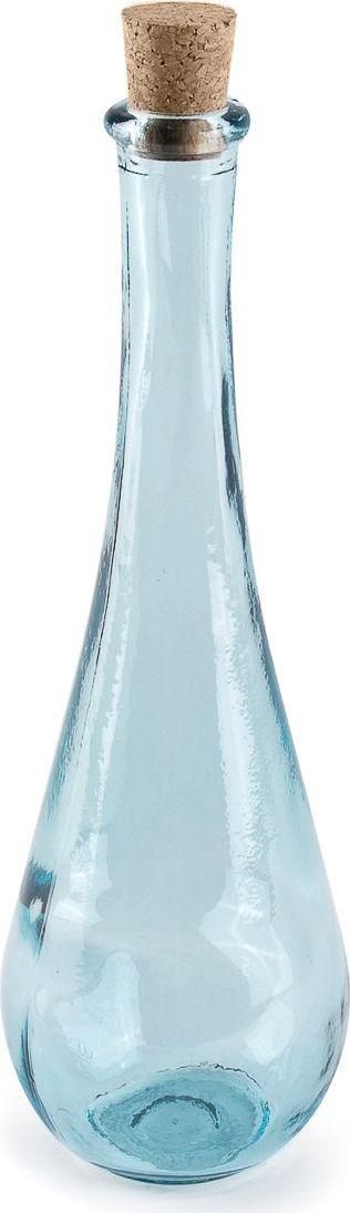 Баночка для соли Moroshka Naturel, цвет: синий. xx004-87xx004-87Узкая баночка для соли Moroshka Naturel вытянутой формы выполнена из стекла. Натуральная пробка герметично закрывает горлышко и позволяет надолго сохранить качество содержимого. Стекло баночки родом из Испании, с фабрики, которая славится своей заботой об окружающей среде и производит изделия из вторичного сырья.