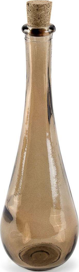 Баночка для соли Moroshka Naturel, цвет: коричневый. xx004-89xx004-89Узкая баночка для соли Moroshka Naturel вытянутой формы выполнена из стекла. Натуральная пробка герметично закрывает горлышко и позволяет надолго сохранить качество содержимого. Стекло баночки родом из Испании, с фабрики, которая славится своей заботой об окружающей среде и производит изделия из вторичного сырья.