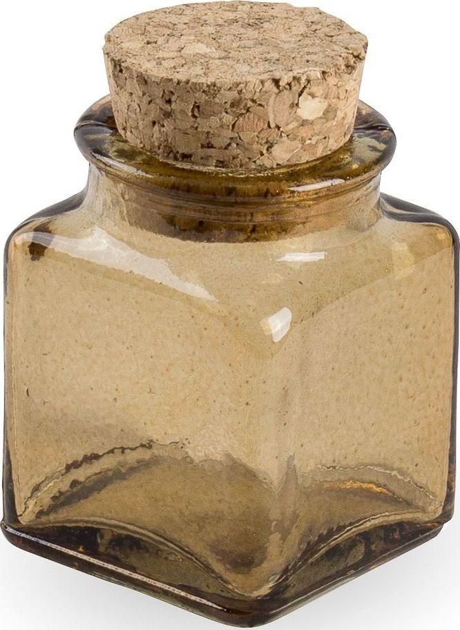 Флакон декоративный Moroshka Naturel, квадратный, цвет: коричневый, 4 х 6,8 х 4 смxx004-97Стеклянный квадратный флакон Moroshka Naturel предназначен для хранения жидких или сыпучих веществ. Мягкая крышка из пробки герметично закрывается и легко открывается. Все стеклянные изделия Naturel изготовлены из вторичного сырья, что оправдывает название коллекции не только в дизайне.