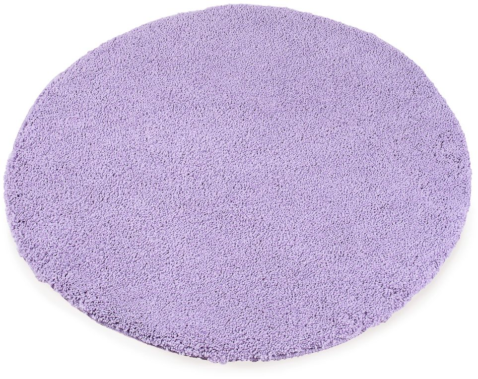 Коврик для ванной Moroshka Fairytale, цвет: фиолетовый, диаметр 80 смxx005-11Противоскользящий круглый коврик с мягким ворсом Moroshka Fairytale имеет противоскользящее покрытие из латексного напыления наобратной стороне. Изделие выполнено из микрофибры.Длина ворса: 2,5 см.