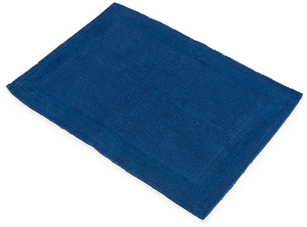 Коврик для ванной Moroshka Maritime, цвет: синий, 60 х 90 смxx006-38Прямоугольный коврик с ворсом в форме петель Moroshka Maritime выполнен из 100% хлопка.Коврик двусторонний, а это значит, что обе его стороны имеют одинаково привлекательный вид. Высота ворса: 2,5 мм.