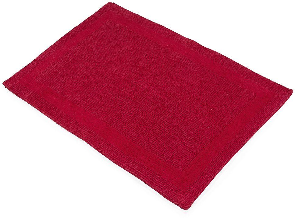 Коврик для ванной Moroshka Maritime, цвет: красный, 60 х 90 см ведро для мусора moroshka maritime цвет белый красный 2 8 л