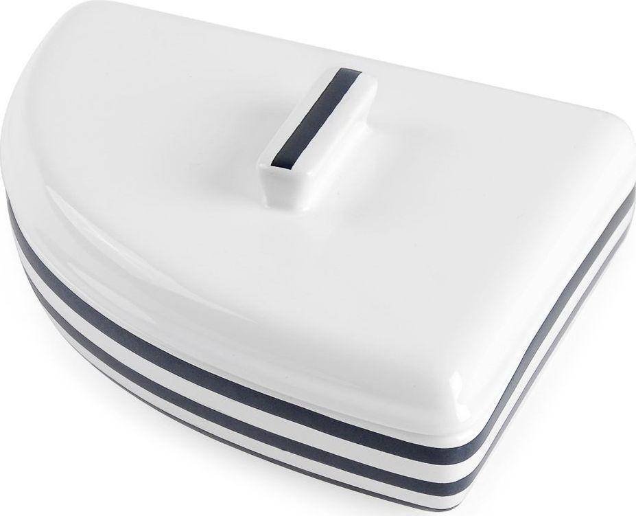 Шкатулка Moroshka Maritime. xx006-67xx006-67Шкатулка с крышкой Moroshka Maritime выполнена из керамики в виде парусника. Эта форма является отличительной чертой морских аксессуаров Maritime. Для удобства открывания на крышке расположена ручка.