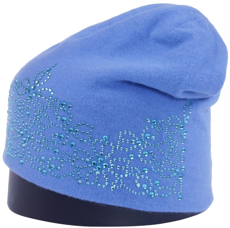 Шапка женская Vittorio Richi, цвет: темно-голубой. Aut241944L-57/17. Размер 56/58Aut241944LСтильная женская шапка Vittorio Richi отлично дополнит ваш образ в холодную погоду. Модель, изготовленная из высококачественных материалов, максимально сохраняет тепло и обеспечивает удобную посадку. Шапка спереди дополнена узором из страз. Привлекательная стильная шапка подчеркнет ваш неповторимый стиль и индивидуальность.