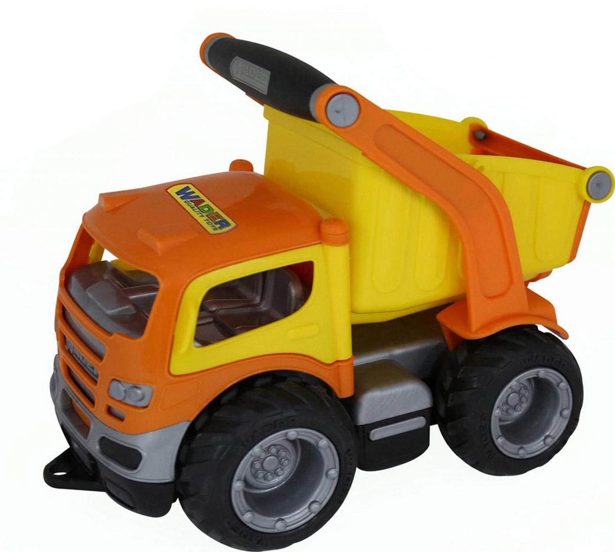 Полесье Самосвал ГрипТрак 37428 машинка детская полесье полесье автомобиль самосвал супергигант